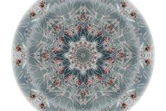 Mandala skapat av naturfoton