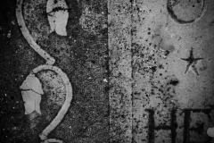 Detalj av gravsten vid Tofta kyrka, Gotland